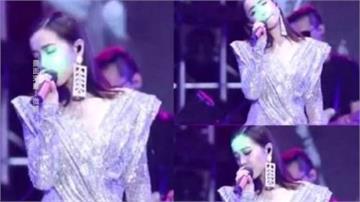 蔡依林中國開唱遭雷射筆突襲 粉絲憂傷害眼睛