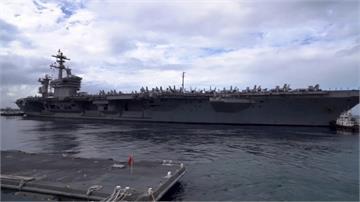 中機頻頻擾台 美國航母羅斯福號進入南海!