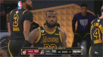 NBA總冠軍賽第二戰 湖人再勝熱火2勝0敗領先