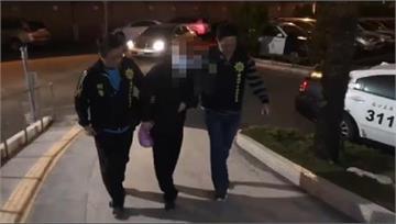 快新聞/台南67歲男與友爭吵後開槍洩憤 鋁門還留有彈孔
