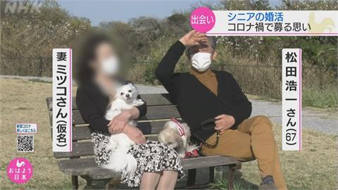 日本疫情燒宅在家「銀髮族相親」成潮流