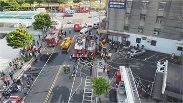 林口千坪保齡球館3樓陷入火海 經營20餘年疑老舊線路釀災