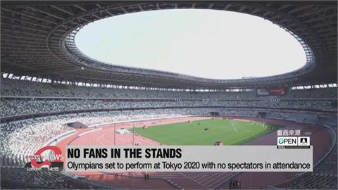 東奧閉門賽 史上首次沒有觀眾的奧運比賽