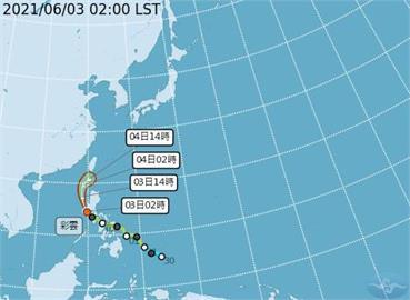 快新聞/全台14縣市防高溫 彩雲颱風北上減弱明帶來降雨