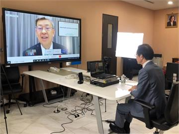 快新聞/泰國「2021年院長論壇」登場 陳建仁:對抗病毒不應存在民族主義