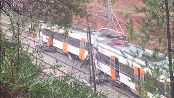 西班牙火車遇土石流出軌 1死數十傷