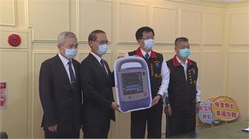 「科技救援」爭取黃金時間慈濟基金會捐贈花蓮消防局防災救護利器