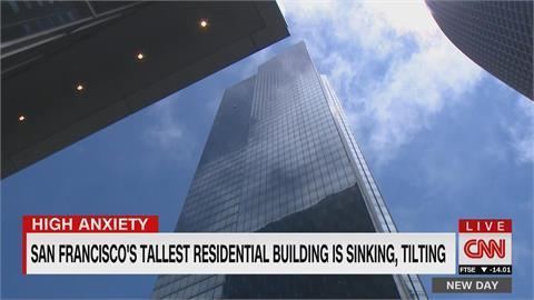 豪宅變危樓!舊金山地標千禧大廈 過去12年持續下陷傾斜