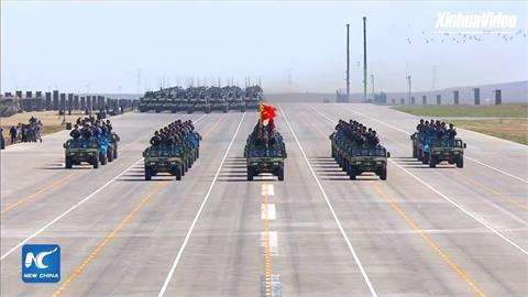 全球/挑戰美國軍事實力?中國調高國防預算6.8%