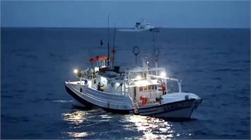 日本公務船衝撞蘇澳籍漁船 海巡基隆艦馳援成功戒護返航