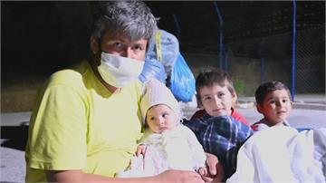 剛爆發疫情又遇大火 希臘難民營處境更艱難