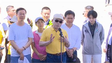 快新聞/蘇貞昌「臉太白」惹關注 蘇巧慧:江湖在走防曬油色號要挑