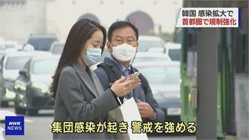 日增逾300例確診!南韓首都圈提高防疫等級