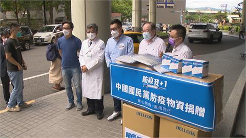 國民黨陸續捐贈醫療物資 江啟臣:都是心意不怕被比較