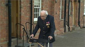 難忘印度服役受傷獲照顧!99歲英國老兵募4.6億助醫護