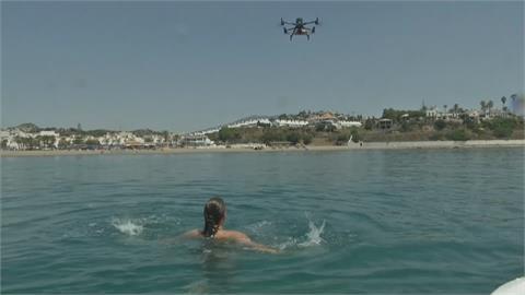救難演習無人機登場 快速抵海面即刻救援