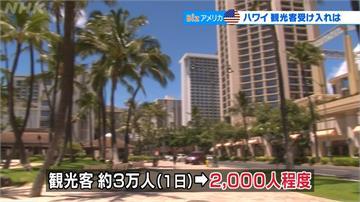 夏威夷旅遊鬆綁 持陰性檢疫證明可免隔離14天