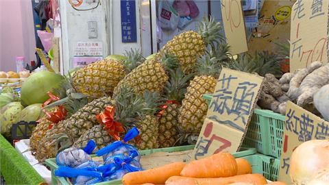 吃鳳梨挺農民價格不降反漲 單顆鳳梨漲近百元
