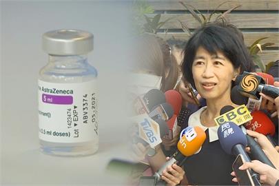 快新聞/陳佩琪:跟風式的施打疫苗 就如同改名吃免費壽司一樣可笑