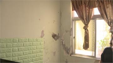 住家震動牆壁龜裂 隔壁建商施工成夢魘