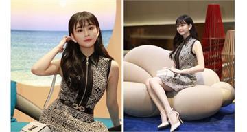 邱淑貞19歲愛女沈月秀逆天美腿 網友瘋狂:戀愛了