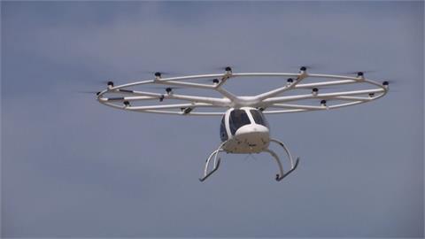 飛天計程車試飛成功 擬2024巴黎奧運載客