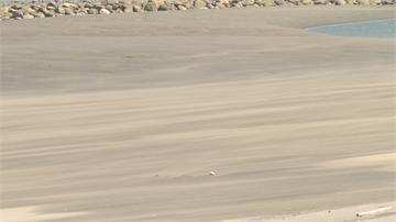 新月沙灣恐無沙可玩! 縣府爭取經費與天爭 「沙」