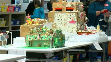 耶誕假前蓋一棟薑餅屋! 美國小學好吃又好玩的作業
