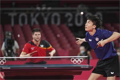 東奧/無緣讓個人第二面銅牌落袋 林昀儒激戰7局3:4敗給德國名將奧恰洛夫