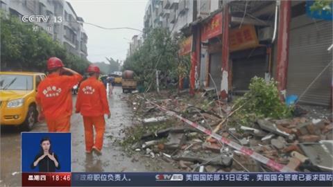 四川規模6.0強震至少3死!  上百住宅嚴重毀損