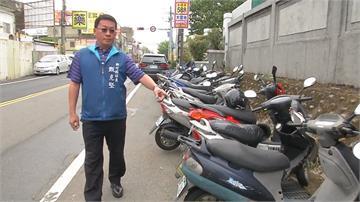 新竹湖口營區外車位一位難求  長時間停放還衍生治安問題