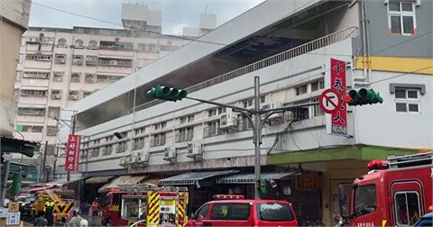 快新聞/基隆調和市場火警! 3樓竄濃煙整棟停電「祖孫館暫時休館」