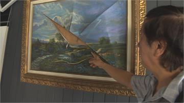 與畫家有嫌隙「報復性毀畫」 上百畫作慘遭刀割畫家要提告