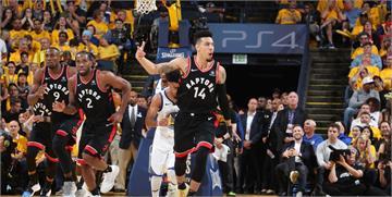NBA決賽/柯瑞拿47分難撐大局 暴龍以123:109擊敗勇士