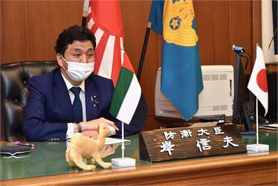 快新聞/ 日防衛大臣岸信夫將蔡英文推文置頂:永不忘台灣給我們的幫助