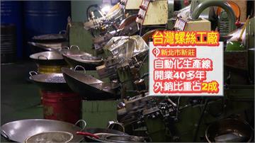 美中貿易戰台灣獲利!在地螺絲廠喜迎轉單效益