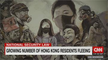 香港現逃亡潮 今年上半移居台灣港人成長逾兩倍