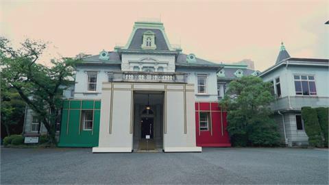 東奧義大利國家館 日式風格搭綠白紅三色