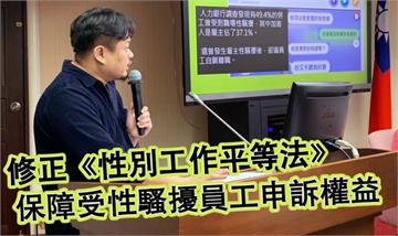快新聞/洪申翰倡修性別工作平等法 防堵職場性騷擾加害者雇主「自己查自己」
