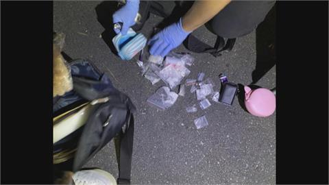 北市毒品通緝犯拒檢撞警車 警射擊輪胎破窗逮人