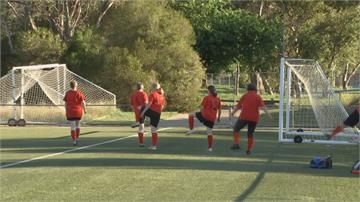 走式足球放慢節奏 澳洲銀髮族樂活新運動