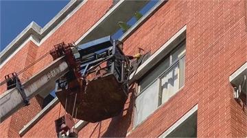 冷熱溫差大 大樓外牆磁磚爆裂意外頻傳