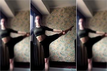 快新聞/8人確診! 莫斯科芭蕾舞團女舞者「房間內練舞」畫面曝光 露燦笑大讚台北
