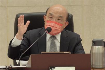 快新聞/維持三級警戒管制? 蘇貞昌指示指揮中心「審慎評估」