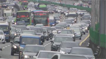 連假首日國道大致順暢 蘇花改湧車潮估午後緩解