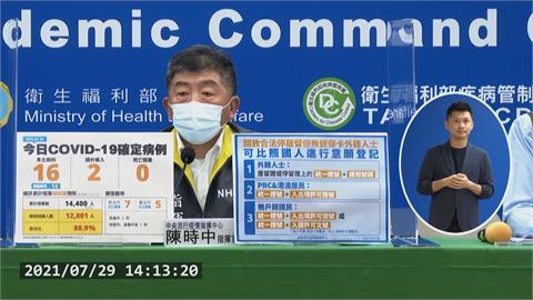 快新聞/陳時中:開放3類無健保卡外籍人士 比照國人意願登記疫苗