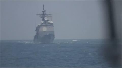 伊朗快艇荷姆茲海峽逼美艦 美警告射擊驅離