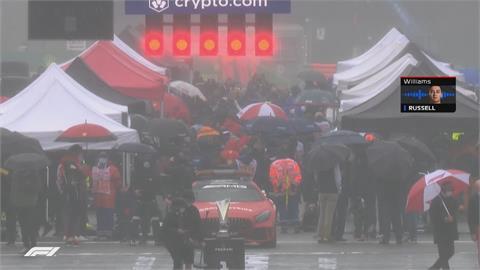 F1史上最短賽事! 比利時大獎賽因雨只跑兩圈完賽