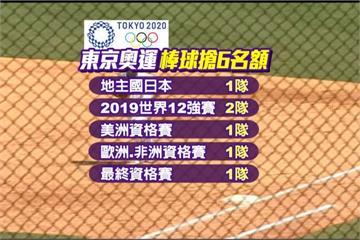2020東京奧運棒球 參賽6隊選拔辦法出爐
