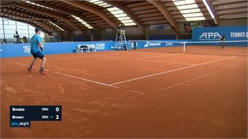 網球/球員好欣慰!德國室內閉門賽率先開打